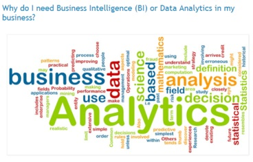 BI and Data analytics
